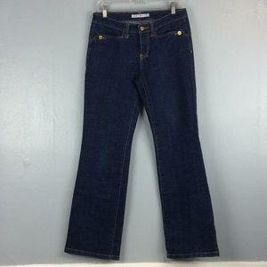 Tommy Hilfiger Ladies Dark Cotton Blend Jeans Sz 6